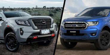 So sánh xe Nissan Navara và xe Ford Ranger