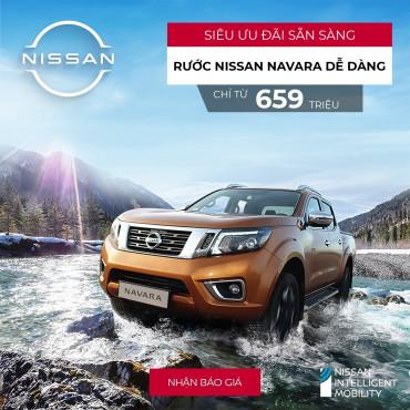 Nissan Navara: Tháng 5 có ưu đãi gì?