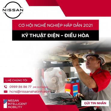 Nissan Hà Tĩnh Bình Thủy Tuyển Kỹ Thuật Viên Điều Hòa Thu Nhập Cao